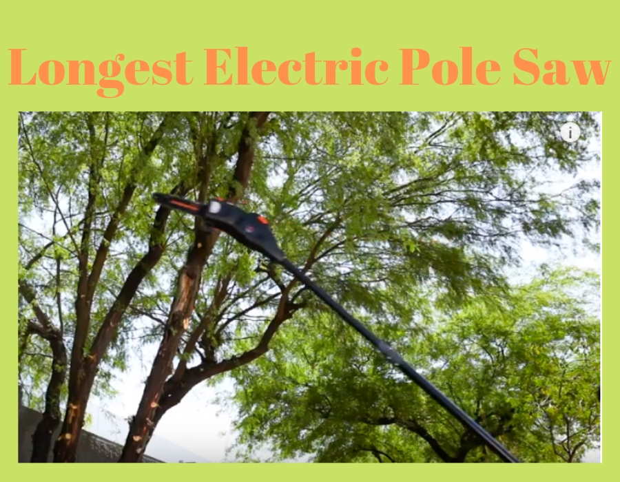 Longest Electric Pole Saw