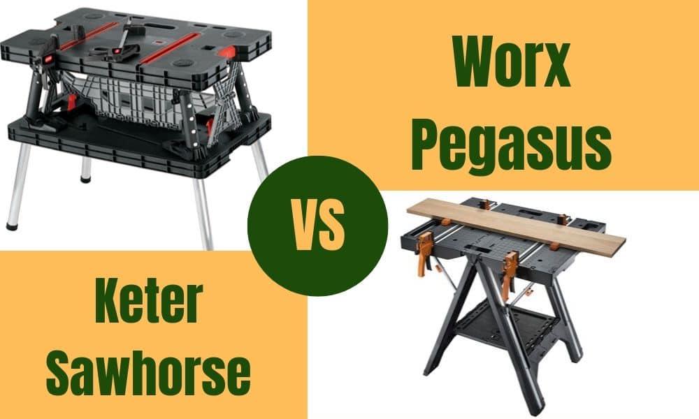 Worx Pegasus Vs Keter
